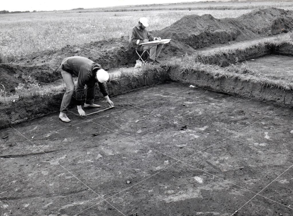 Badania archeologiczne na terenie osady Truso, 1987 r.