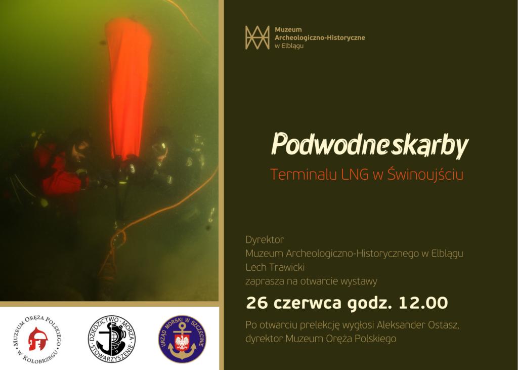 Podwodne skarby terminalu LNG w Świnoujściu - zaproszenie na wystawę