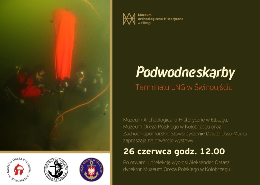 Podwodne skarby terminalu LNG w Świnoujściu - zaproszenie
