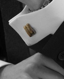Spinki do mankietów inspirowane biżuterią gocką