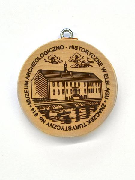 Znaczek turystyczny - Muzeum Archeologiczno-Historyczne